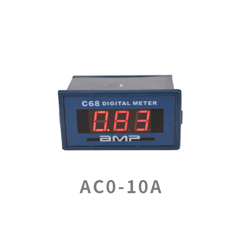 Single-phase AC  meter digital display 220V10A small-range module Compatible with 85L17