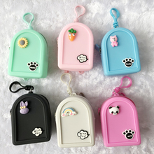 1PC Mini Dolls Backpack For 29cm Doll,  1/6 BJD, Azone OB Doll Soft Rubber Bags Accessories Children Kids Best Gifts