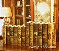 10 UNID Fabricante directo de estilo Europeo retro Falso papel Libro apoyos de la fotografía decoración libro de BHFG-16