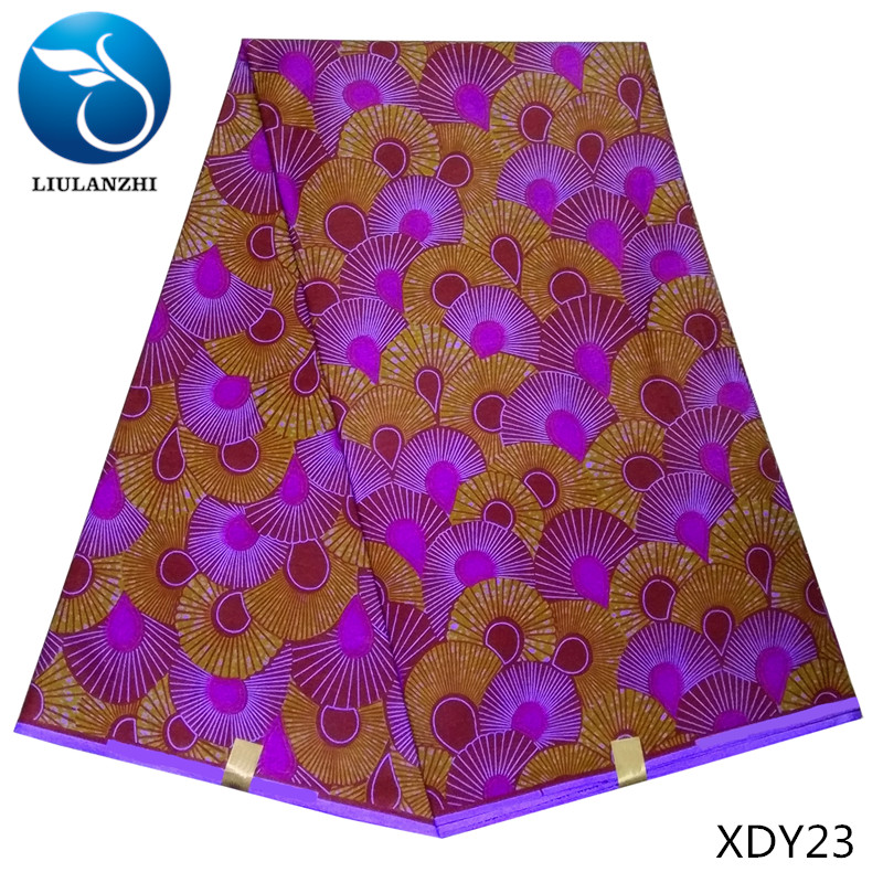 LIULANZHI Veritable cotton printed real wax new fashion African fabric 100% high quality XDY
