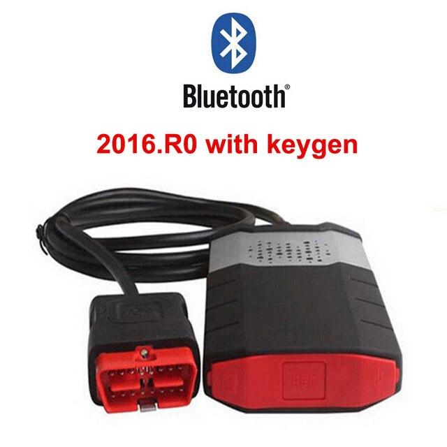 2016. R0 keygen pour delphi ds150e bluetooth cdp pro plus obd obd2 scanner pour voiture et camion outils de diagnostic professionnels 2018