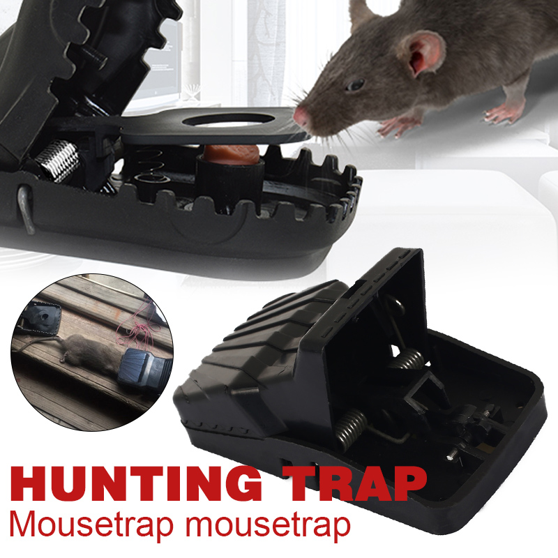 Mice Catcher Rat Trap Tools Spring Mousetrap Pest Trap-Easy Accessories Effective Black Catching Rodent Mouse Home