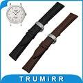 16mm 18mm 20mm 22mm 24mm Calf Genuine Leather Watch Band for Tissot 1853 Butterfly Buckle Watchband Strap Wrist Belt Bracelet