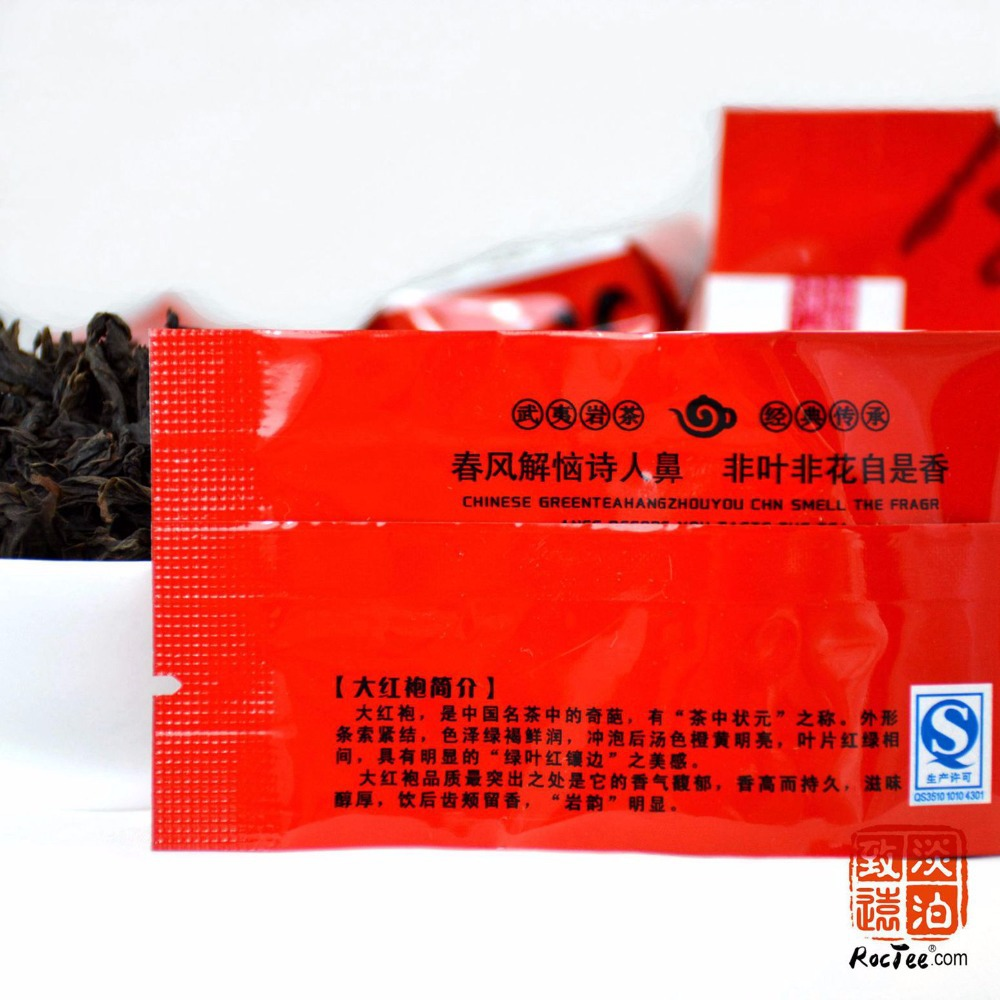 Flower Aroma Da Hong Pao Que She 1Oolong Tea Big Red Robe Chinese Dahongpao lose weight health product the cha