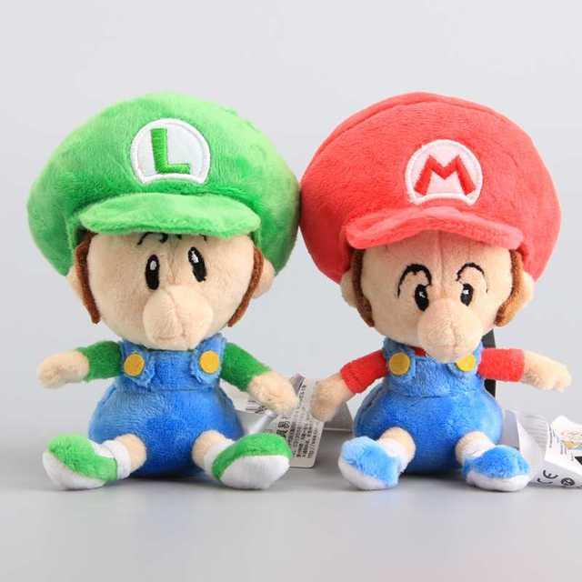 hot sale super mario bros baby mario luigi baby soft toys super mario bros - Bebe Mario