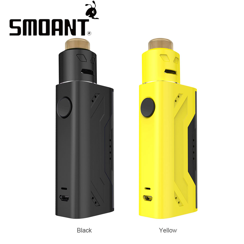 Original Smoant Battlestar Nano RDA Kit with Battlestar RDA Max 80 Output No 18650 Battery E-cigarette Vape Kit Vs Subox Mini C