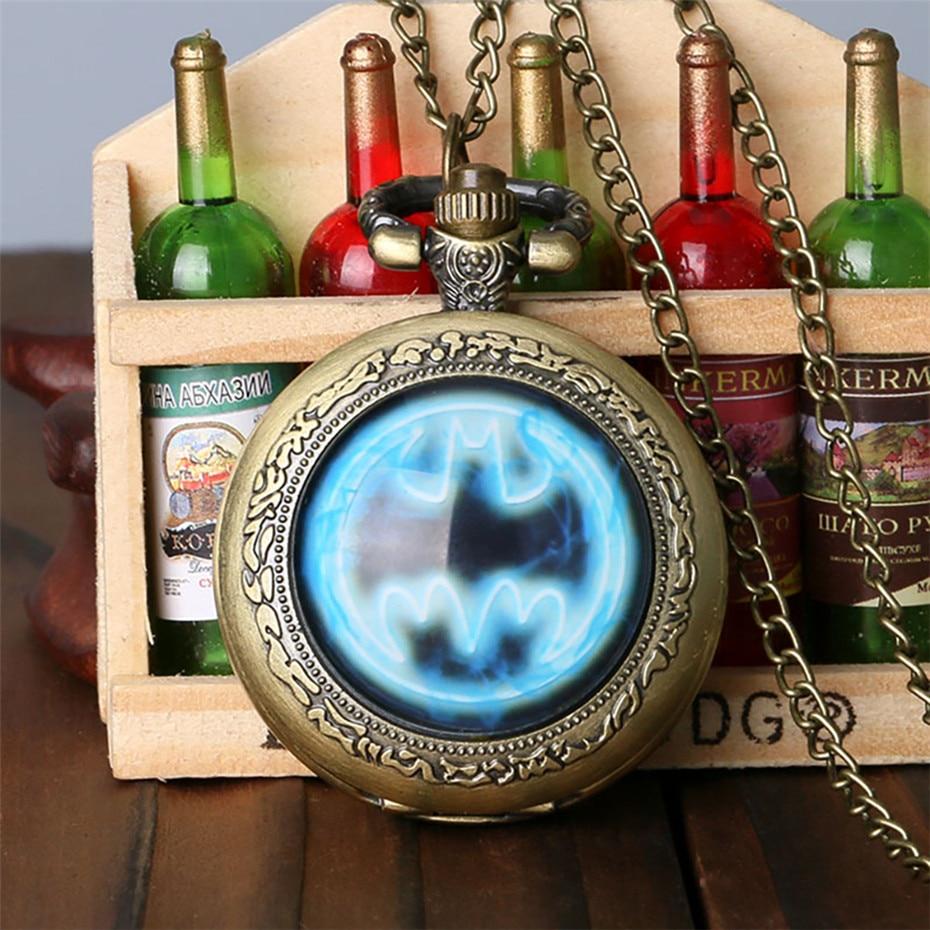 batman pocket watch, pocket watch, pendant watch jewelry, birthday gifts for kids (15)
