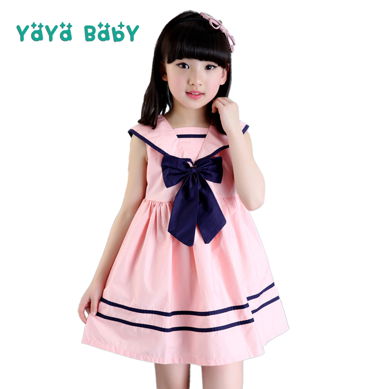 3 4 5 6 7 8 9 10 11 12 Year Girls Dress 2018 New Summer Casual Kids Clothes for Girl Sleeveless Bow Children Princess Dresses baby children girl princess dress 2018 new 3 4 5 6 7 8 9 10 11 12 year summer flower girls dress sleeveless fashion kids clothes