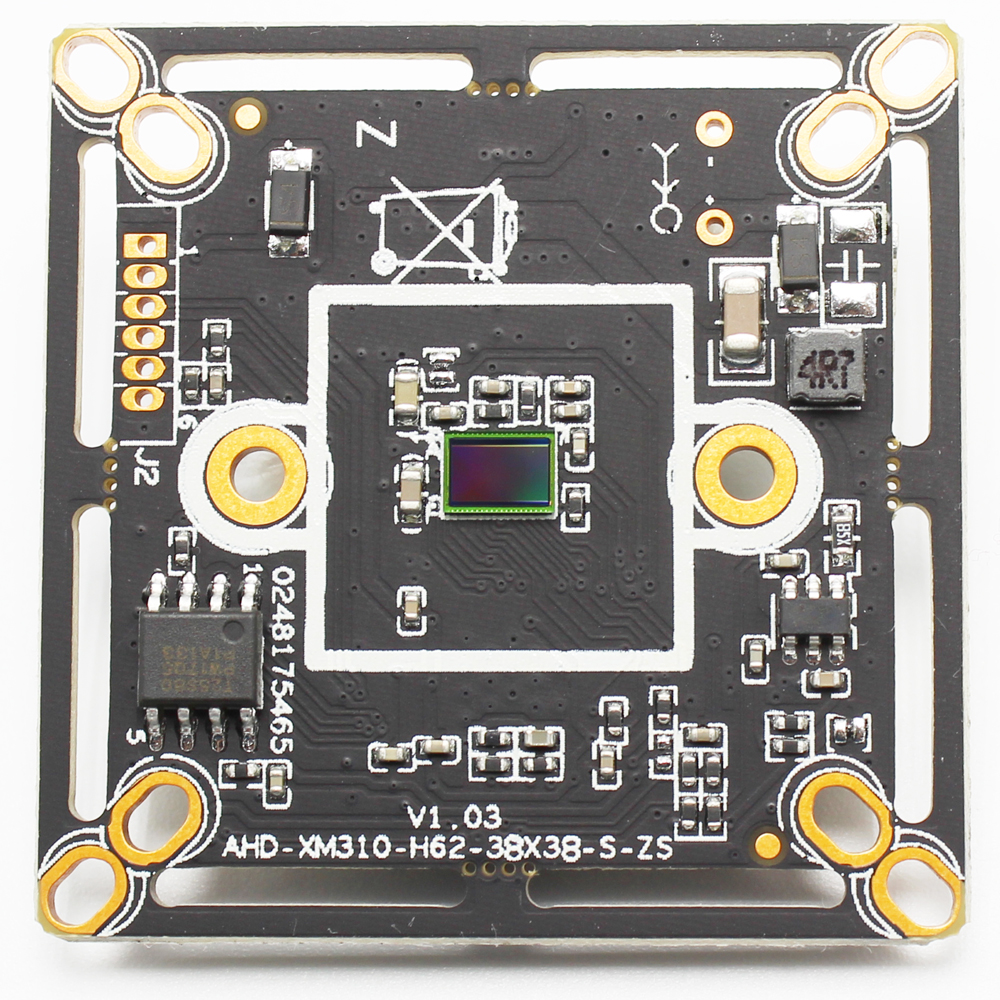 2MP CCTV CAMERA Module 1/2.9 CMOS 1080P 720P AHDM HD 200 MegaPixel BOARD For XVI-AHD Camera DIY Wholesale price AHD CAMERA image