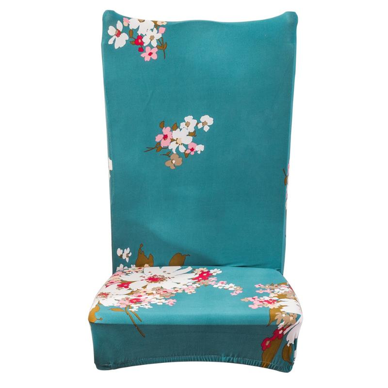 Thicken Plush Chair Cover Elastic Hotel Banquet Seat Cover Vintage Hotel Home Chair Wrap Party Wedding Seats Decoration