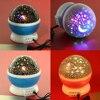 4 LED Bulbs Romantic Star Rotating Projection Lamp Star Moon Sky Projector Night Light 3 Model