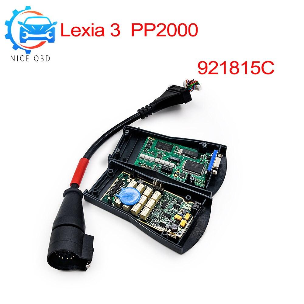 2019 Diagbox V7.83 Lexia With 921815C Firmware Lexia3 PP2000 V48/V25 Lexia 3 Scanner Lexia 3 For Citroen/Peugeot Diagnostic-tool