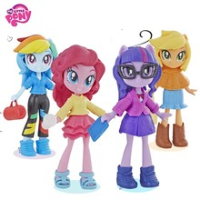 Origin My Little Pony collection dolls Movie Big Mcintosh Rainbow Action Figure Toys For Little Baby Birthday Gift Girl Bonecas 2018 my little pony toys the movie dj pon 3 big mcintosh rainbow dash pinkie pie rarity pvc action figure collectible model doll