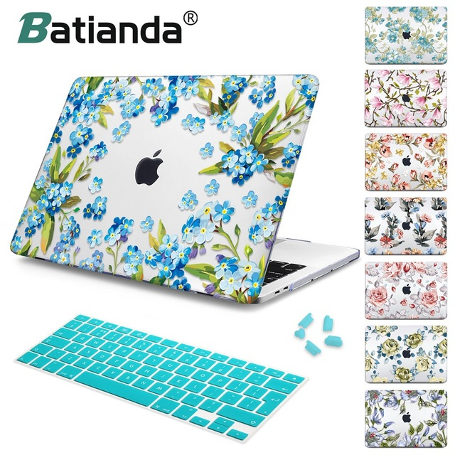 online store 17ff0 542aa US $15.19 24% OFF|For Macbook Air 13 2018 A1932 Case For mac book Air Pro  Retina 11 12 13 15 New pro 13 15 2018 A1989 Flower Crystal Laptop Shell -in  ...