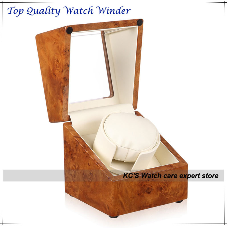 Watch Winder Piano Lacquer Automatic Watch Box Case for RLX CDR Any Automotive Watch Best Gift to Husband Friend GC03-S104YW best for watch gift box classical mens