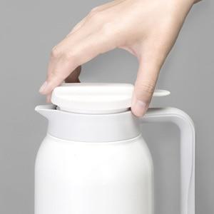 Image 5 - Youpin VIOMI termo kupa 1.5L paslanmaz çelik vakum bardak 24 saat şişesi su şişesi kupası bebek açık akıllı ev