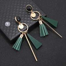 Geometric Tassel Women's Drop Earrings