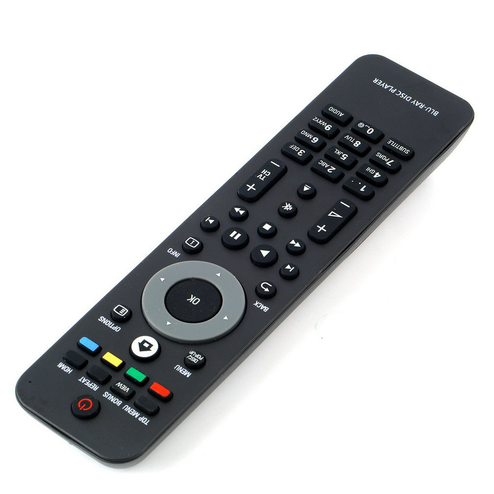 High Quality Universal Remote Control For Philips BLU-RAY DISC PLAYER DVD Function Free Shipping Worldwide Sale ...
