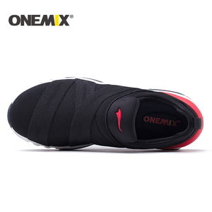 Image 3 - Onemix 2018 new men running shoes hight sneakers breathable sneakers for women outdoor trekking walking running shoes for men