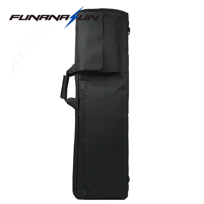 где купить 100CM Military Long Gun Carry Bag with Protective Thick Foam and Magazine Pouch Traveling Camping Fishing Hunting Shoulder Bag по лучшей цене