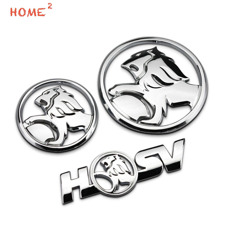 Car Styling High-end Auto Alloy Body Sticker Decal Emblem Badge for Lion Logo for Holden colorado cruze captiva barina monaro