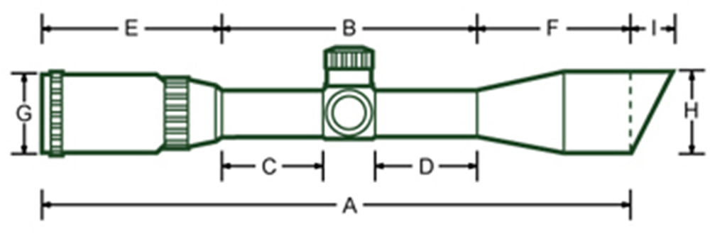 Ohhunt HL 3-12X44 SF RGB Vidro Gravado