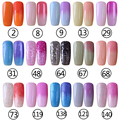 Brand New gel lacquer smart gel Chameleon Temperature Change Color Gel great shiny color nail polish