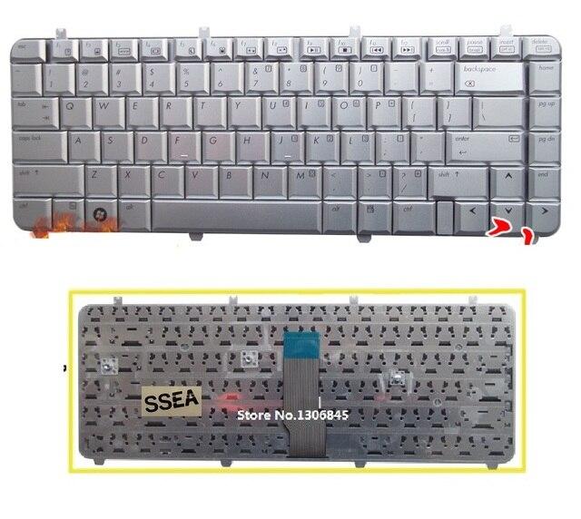 SSEA New US Keyboard English For HP Pavilion dv5 dv5t dv5z dv5 1000 ...