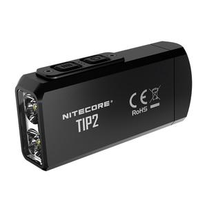 Image 1 - NITECORE miniluz 100% con batería, linterna con llavero recargable USB, 720 lúmenes, CREE XP G3 S3