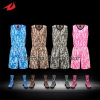 2016 Latest sublimation customized basketball jersey,accept small quantity,top quality camouflage style
