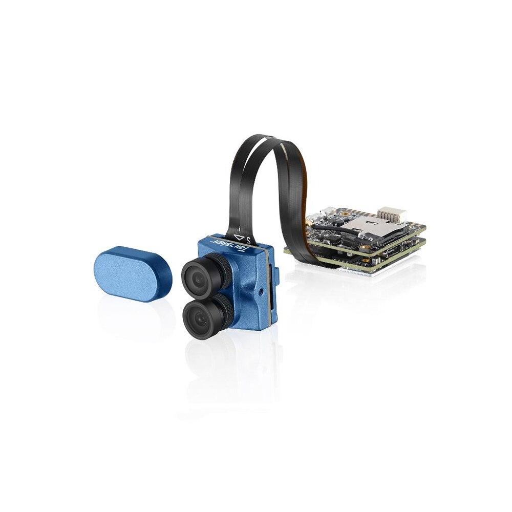 Livraison gratuite Caddx Tarsier 4K 30fps 1200TVL double lentille WDR WiFi Mini caméra FPV enregistrement HD DVR Audio OSD pour Drone de course FPV-in Pièces et accessoires from Jeux et loisirs    1