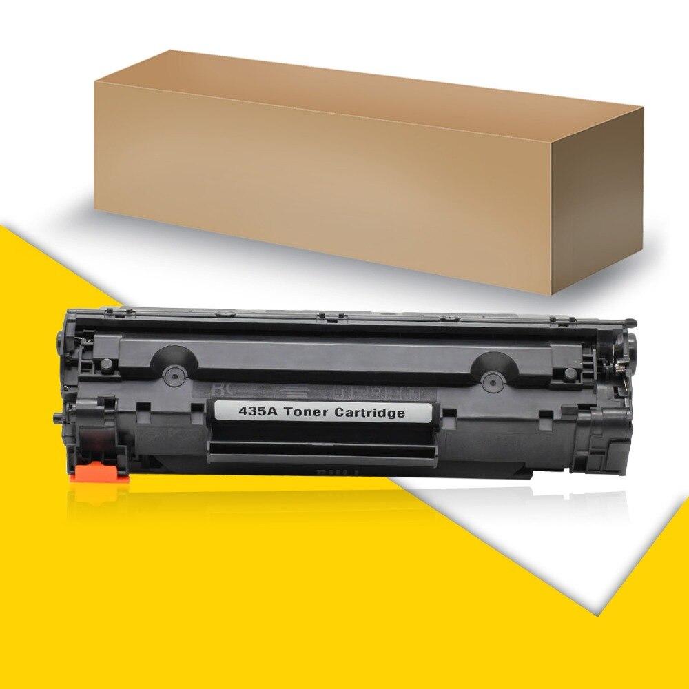 5 Stücke Schwarz Kompatibel Laser-tonerpatrone Ersatz für HP Laserjet Drucker CB435A P1002...
