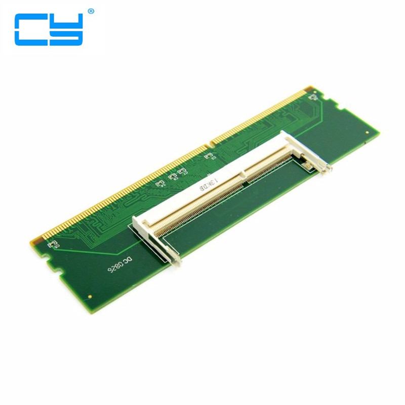 DDR3 Laptop SO-DIMM to Desktop PC DIMM Memory RAM Adapter DDR3 204Pin To 240Pin Lod reboto ddr3 4gb 8gb1600mhz pc3l 12800s low voltage 1 35v ram memory laptop