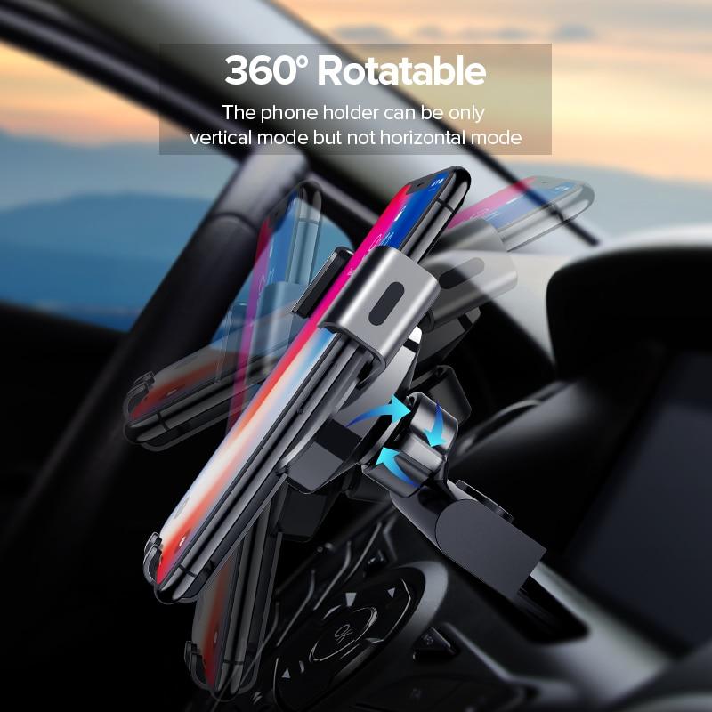Ugreen Car Phone Mount Holder for Phone in Car CD Slot Car Phone - Reservdelar och tillbehör för mobiltelefoner - Foto 4