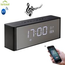 Smart LED Alarm Stereo Bluetooth Speaker tron smart element Sound Box Portable Speakers for the computer Soundbar for xiaomi