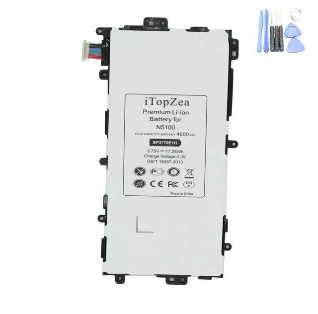 ITopZea 4600 mAh SP3770E1H החלפת סוללה עבור Samsung Galaxy הערה 8.0 8 3G GT-N5100 GT-N5110 N5100 N5120 Tablet Tab סוללה