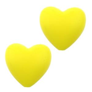 Image 5 - 100 ชิ้น/ล็อตเกรดอาหารรูปร่างหัวใจซิลิโคนฟันลูกปัด DIY bpa ฟรีซิลิโคน Teethers สำหรับกำไลสำหรับเด็กทารกเคี้ยว