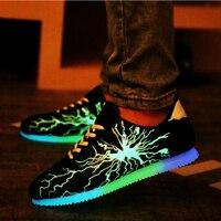 รองเท้าเรืองแสงส่องสว่างชายรอง