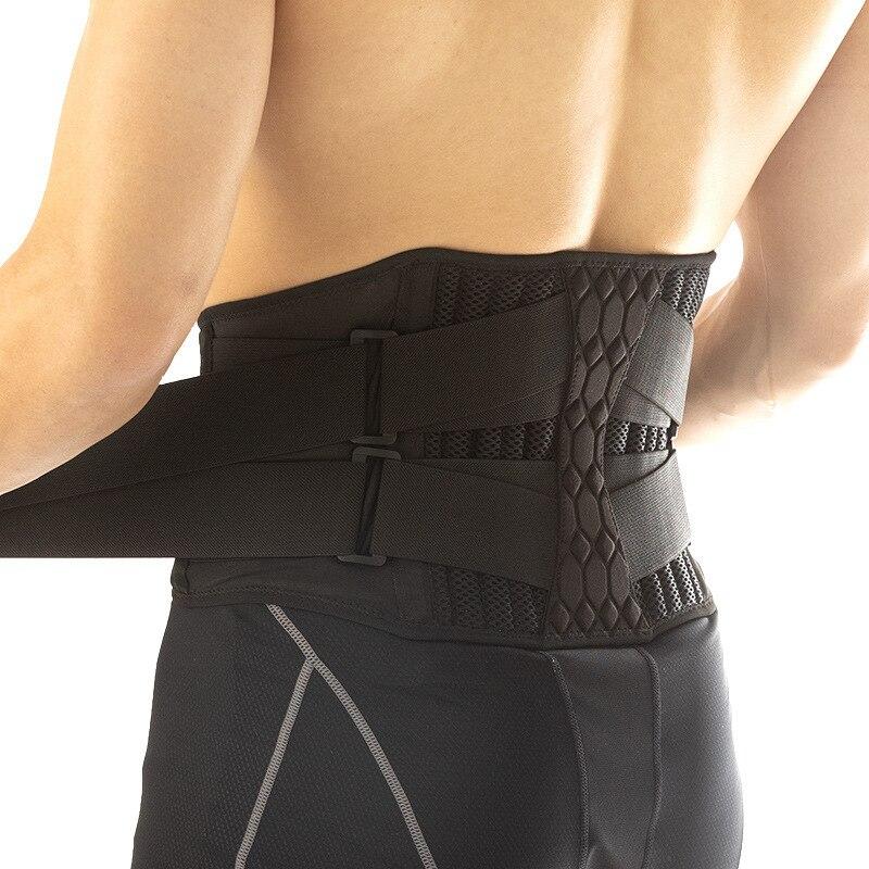 Lumbar Waist Support Belt Strong Lower Back Brace Support Corset Belt Waist Trainer Sweat Slim Belt for Sports Pain Relief New