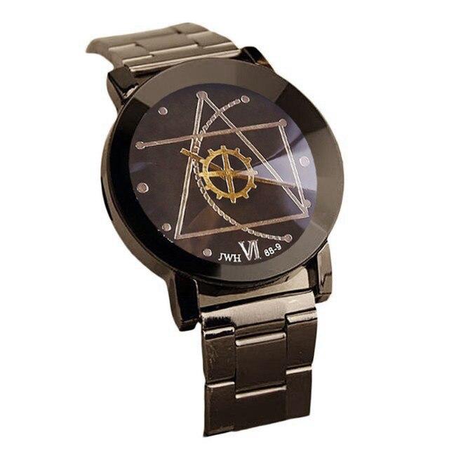 c78cd8e18560 2018 estrella de la moda reloj hombres reloj de marca de lujo mujer amante  de acero