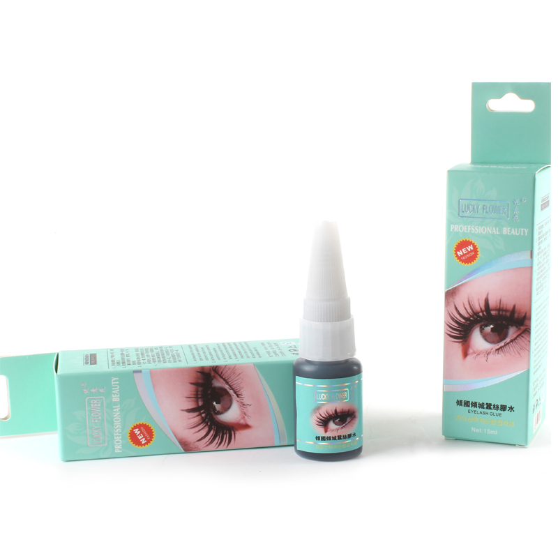 10pcs Professional Eyelashes Glue 15ml Long Lasting 20 Days Low Odor