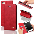 """IPhon6 Más Caso Billetera de Cuero de Lujo Diapositiva Pulgar Tarjeta de Casos Para el iphone 6 Plus 5.5 """"tapa flip case magnética para el iphone 6 plus"""