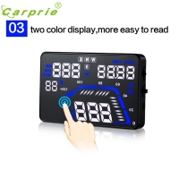 Auto-styling Q7 5,5 ''Universal Auto GPS HUD Digitale Kopf-Up Dash Screen Display Speed Alarm DEZEMBER 23