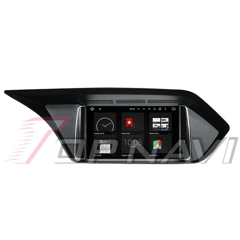 Topnavi Android 8.0 voiture PC lecteur Auto Radio pour Mecerdes Benz C (2014 2005 2006 2007 2008-2017) GPS Navigation 4 + 32 GB Octa Core - 6