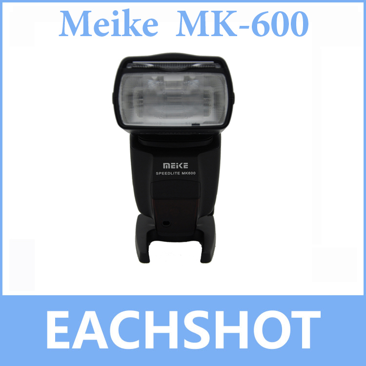 Meike MK-600 MK600 ETTL ETTL II HSS Speedlite for Canon Camera High Speed Sync Speedlight Flash Light for Canon DLSR Camera вспышка nissin di 600 for canon