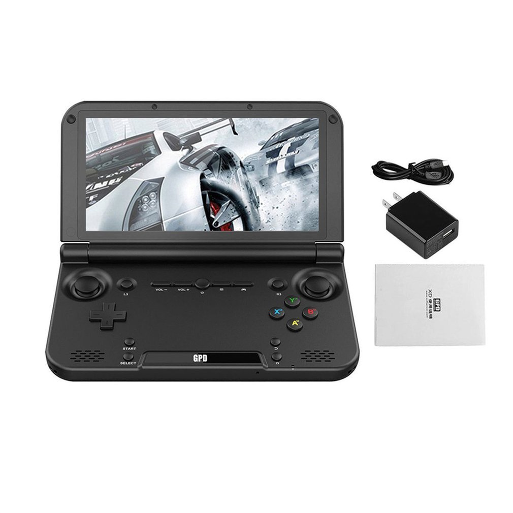 GPD XD PLUS 5 pouces joueur de jeu Gamepad 4 GB/32 GB MTK8176 2.1 GHz lecteur de Console de jeu portable