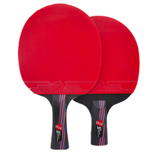 3 Star Table Tennis Racket Pimples-in Rubber Table Tennis Bat Ping Pong Paddle with Bag for Children Top Quality