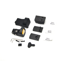 Red Dot Sight With the 1911,1913 And Glock Mount Black Hunting Rifles Scope Tactical Gear Reflex Holographic Rifles cope