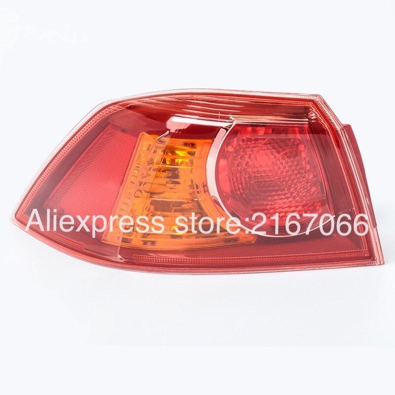 Feu arrière gauche pour Mitsubishi Lancer 10 2007, 2008, 2009, 2010, 2011, 2012, 2013, 2014,, feu arrière côté conducteur Evo