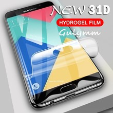New 31D Curved Hydrogel Soft Film For Samsung Galaxy A 20 30 40 50 60 70 80 90 2019 Full Screen Protector J 3 5 Protective